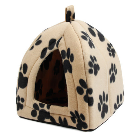 Soft Dog/Cat Kennel Lovely Pet Bed House * Pawz Road Pet house - Periwinkle Online