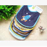 Cotton Baby Bibs Embroidered Saliva Towels 7pcs/lot Mother Nest AliExpress - Periwinkle Online