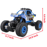 RC Car 2.4G Rock Crawler Car 4 WD Monster Truck 1:18 Off-Road Vehicle Buggy