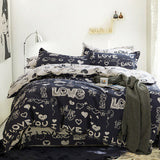 Svetanya 800TC Cotton Bedlinen twin full double queen king size Bedding Set