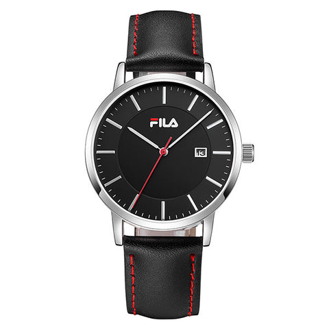 Fila Casual Auto Date Leather Strap Unisex Wristwatch 38-793/794 * Fila Watches - Periwinkle Online