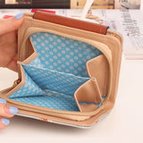 Japan's Rural Style Floral Print Women Wallet Card Holder * other Wallet - Periwinkle Online