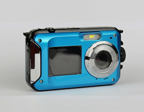 Waterproof Digital Camera 5M 16X Zoom Underwater Shockproof HD cam 2.7inch LCD * Protax Digital Camera - Periwinkle Online