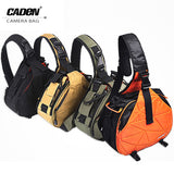 Shoulder Camera Photo Sling Canvas Soft Bag For Canon Nikon K1 K2