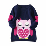 Belababy Girls Long Sleeve Knitted Sweaters BelaBaby AliExpress - Periwinkle Online