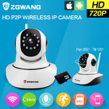 ZGWANG HD 720P Wifi IP Camera Wireless Network Home Security Camera CCTV