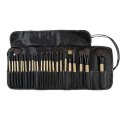 1set/24Pcs Kabuki Cosmetic Make Up Brush Kit Set