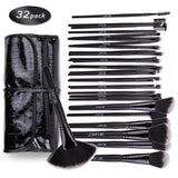 DE'LANCI Professional Makeup Brushes 32 pcs Make up Brush Set With Black Case * DE'LANCI Make-up Brush - Periwinkle Online