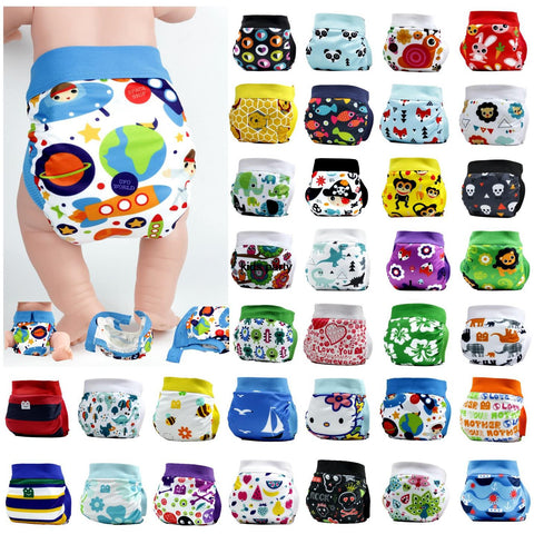 Gladbaby including pouches with snap cloth diaper