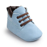 Soft born Toddler Moccasins Shoes First Walker 0-18M * other Babies Shoes - Periwinkle Online