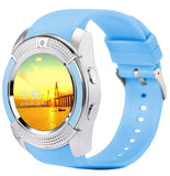est smart watch phone support SIM SD card bluetooth wearable devices PK GT08 * ECDream Smart Watch - Periwinkle Online