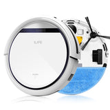 ILIFE Intelligent Robot Vacuum Cleaner Slim, HEPA Filter,Cliff Sensor,Remote control Self Charge * ILife Robotic Vacuum Floor Cleaner - Periwinkle Online