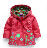 Coats Blazer Trench Spring Autumn Hoodies Jackets for Girl