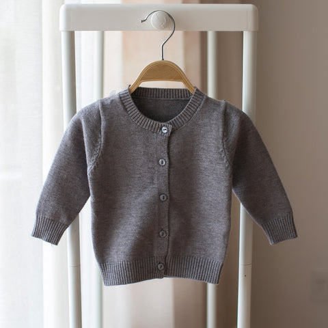 Infant Cardigan Knitting Cotton Sweater Unisex * DouXiong Kids Baby Clothes - Periwinkle Online