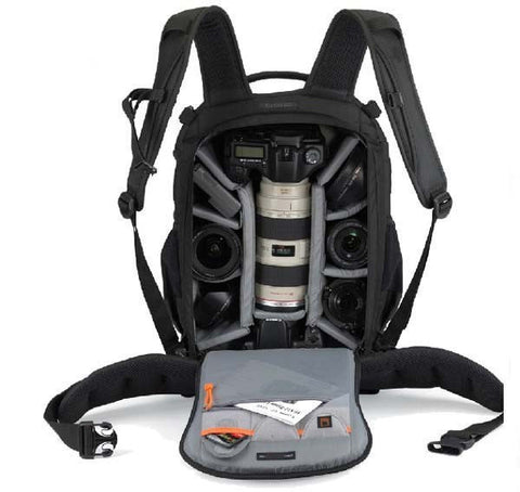 Hot selling Flipside 400 AW Black Camera Digital DSLR Backpack for Canon/ Nikon/ Sony - Periwinkle Online