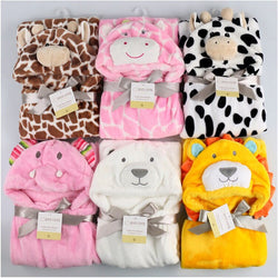2017 New Cottons Hooded Animal Baby Bathrobe High Quality 7 Patterns Available - Periwinkle Online