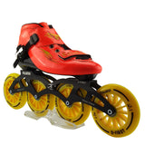 Professional Adults Roller Skate Slalom/Braking/Free Skating Single Inline 4 Wheels Roller Shoes