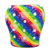 Washable Reusable One Size Breathable Cover Pants for Toddler Nappy 0-3 Years 10 Colors