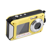 2.7inch TFT Digital Camera Waterproof 24MP MAX 1080P Double Screen 16x Digital Zoom Camcorder KiVos AliExpress - Periwinkle Online