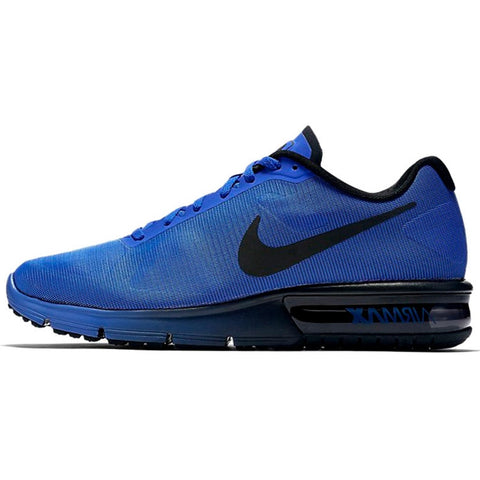 NIKE AIR MAX SEQUENT Men's Running Shoes Low top Sneakers 719912 * Nike Running Shoes - Periwinkle Online