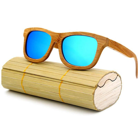 RTBOFY Unisex Wood Polarized Sunglasses Retro Handmade..2140
