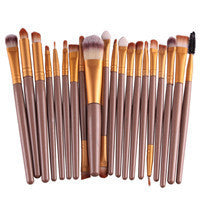 BLUEFRAG Professional Makeup Brush Set tools Make-up Toiletry Kit Brand Make Up Brush Set - 6 Colors - Periwinkle Online