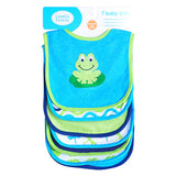 Cotton Baby Bibs Bibs Towel Burp Clothes 7pcs/lot