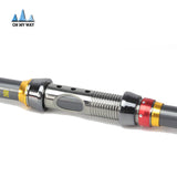 High Performance Carbon Fiber Telescopic Fishing Rod 2.1/2.4/2.7/3.0/3.6m * Dagezi Fishing Rod - Periwinkle Online