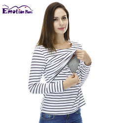 Emotion Moms Maternity Clothes Tops/T-shirt Breastfeeding shirt Nursing Tops