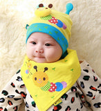 Autumn baby boys and girls fall and winter baby hat children cotton cap - Periwinkle Online
