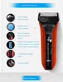 Electric Shaving Razors Waterflex Wet&dry Wf2s Red High Quality Rechargeable Shavers * Braun Grooming - Periwinkle Online