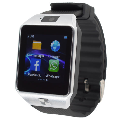 Smart Watch for Android Phone GT08 GV18 Camera 1.54 IPS - Periwinkle Online