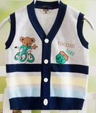 Knitted Baby Vest for Boys