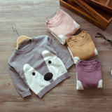 2017 Unisex Cartoon Sweater for 2-3 Years old - Periwinkle Online