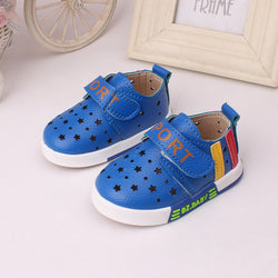 2017 New Spring  Korean Tide Toddler Unisex Shoes - Periwinkle Online