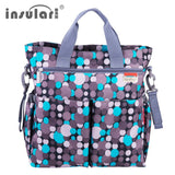 Fashion Baby Diaper Waterproof Multi-functional Nappy Bag * Insular Baby Bag - Periwinkle Online