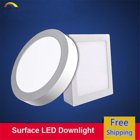6W/12W/18W Round/Square LED Panel Light Swallow Fly AliExpress - Periwinkle Online
