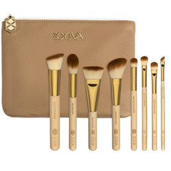 8pcs Zoeva Bamboo Makeup Brush Set