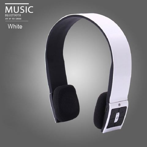 Casque Audio Blutooth Headset Auriculares With Mic