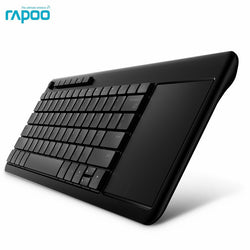 New Original Rapoo K2600 2.4G Wireless Keyboards with Touch Pad Panel for TV