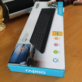 Rapoo K2600 2.4G Wireless Keyboards with Touch Pad Panel for TV