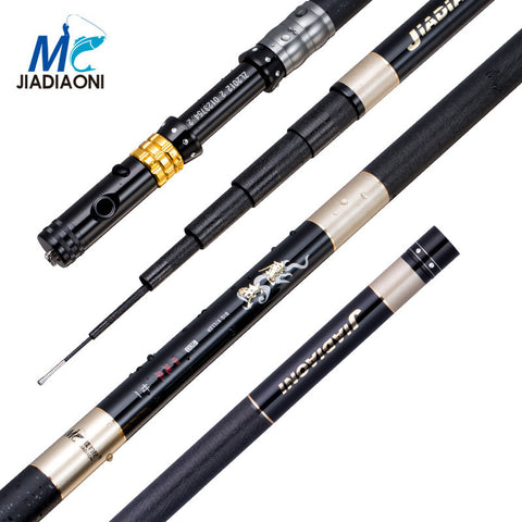 Free Shipping | 99%Carbon 3.6M 4.5M 5.4M 6.3M Long Telescopic Fishing Rod Jiadiaoni - iWynx