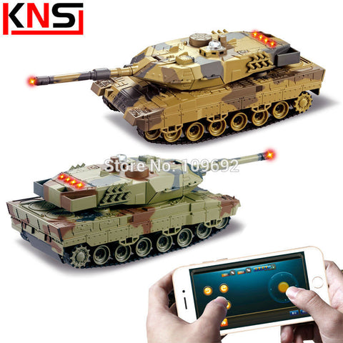 HuanQi H500 RC Tanks Battle Infrared Shooting Phone Bluetooth Gravity Sensor