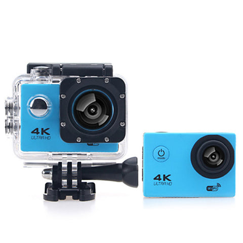 F60B 4K WiFi 170 Degree Wide Angle 2.0 inch LCD Sports Camera Loop Cycle Recording * Excelvan Sports Camera - Periwinkle Online