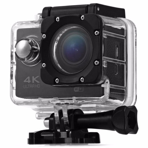 F60B 4K WiFi 170 Degree Wide Angle 2.0 inch LCD Sports Camera Loop Cycle Recording