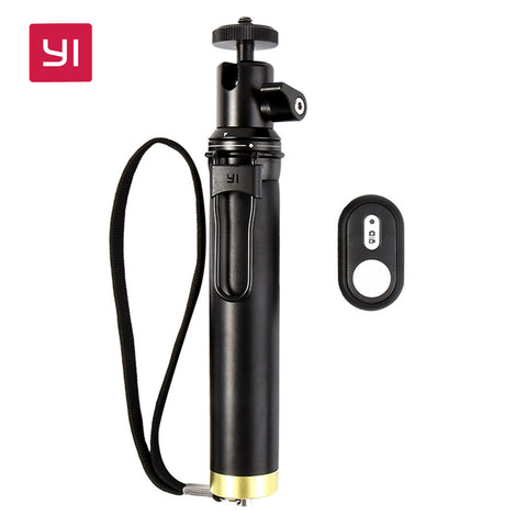 YI Selfie Stick and Bluetooth Remoter For YI Action Camera Sports Mini Camera Smart Cellphones