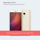 Dreami Xiaomi Redmi Note 4 Prime 64GB ROM 3GB RAM MTK Helio X20 Deca Core 13MP * Xiaomi Mobile Phones - Periwinkle Online