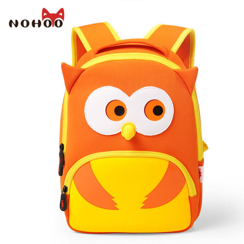 Cartoon Penguin Unisex School Backpacks Bags Waterproof Primary Children Backpack Nohoo AliExpress - Periwinkle Online