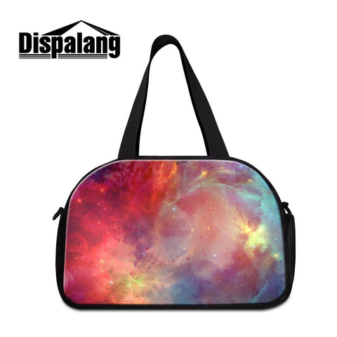 Galaxy shoulder luggage Duffle travel bags for women * Dispalang Duffle Bags - Periwinkle Online
