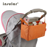 Multi-functional Stroller Organizer Diaper Bags For Strollers